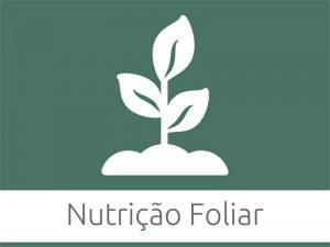 Nutrição Foliar